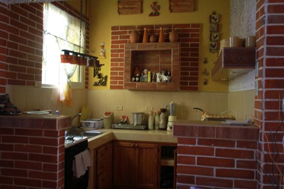 Cocina Hostal Peregrino El Encinar